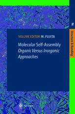 Molecular Self-Assembly Organic Versus Inorganic Approaches