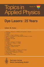 Dye Lasers: 25 Years