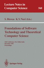 Foundations of Software Technology and Theoretical Computer Science