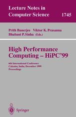 High Performance Computing – HiPC'99