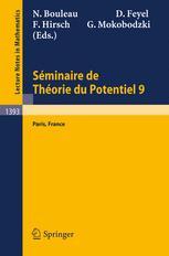 Séminaire de Théorie du Potentiel Paris, No. 9