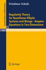 Regularity Theory for Quasilinear Elliptic Systems and Monge—Ampère Equations in Two Dimensions