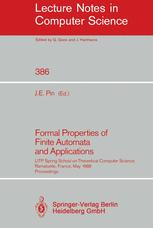 Formal Properties of Finite Automata and Applications