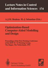 Optimization-Based Computer-Aided Modelling and Design