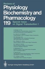 Reviews of Physiology, Biochemistry and Pharmacology, 119