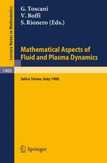 Mathematical Aspects of Fluid and Plasma Dynamics