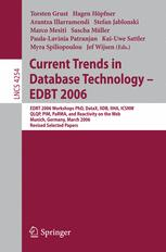 Current Trends in Database Technology – EDBT 2006