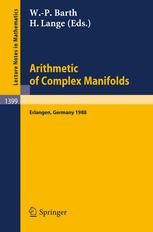 Arithmetic of Complex Manifolds