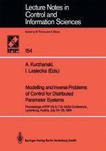 Modelling and Inverse Problems of Control for Distributed Parameter Systems