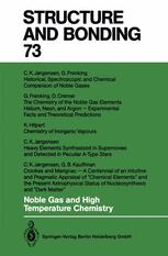 Noble Gas and High Temperature Chemistry