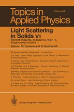 Light Scattering in Solids VI