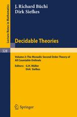 Decidable Theories II