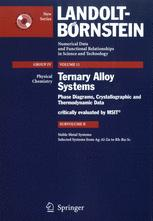 Noble Metal Systems. Selected Systems from Ag-Al-Zn to Rh-Ru-Sc