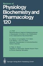 Reviews of Physiology, Biochemistry and Pharmacology, Volume 120