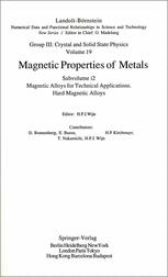 Magnetic Alloys for Technical Applications. Hard Magnetic Alloys