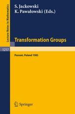 Transformation Groups Poznań 1985