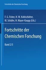 Fortschritte Der Chemischen Forschung Volume 2