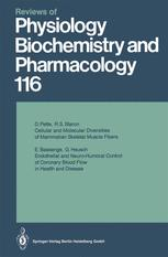 Reviews of Physiology, Biochemistry and Pharmacology, Volume 116