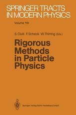 Rigorous Methods in Particle Physics