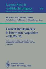 Current Developments in Knowledge Acquisition — EKAW '92