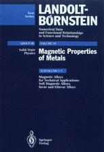 Magnetic Alloys for Technical Applications. Soft Magnetic Alloys, Invar and Elinvar Alloys