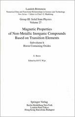 Boron Containing Oxides