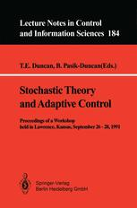 Stochastic Theory and Adaptive Control