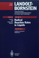 Carbon-Centered Radicals I
