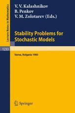 Stability Problems for Stochastic Models