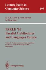 PARLE '91 Parallel Architectures and Languages Europe