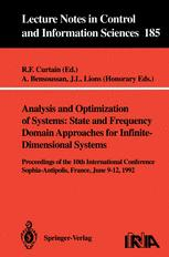 Analysis and Optimization of Systems: State and Frequency Domain Approaches for Infinite-Dimensional Systems