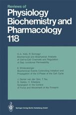 Reviews of Physiology, Biochemistry and Pharmacology, Volume 118