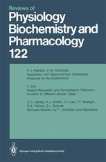 Reviews of Physiology, Biochemistry and Pharmacology, Volume 122