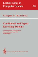 Conditional and Typed Rewriting Systems