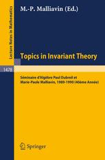Topics in Invariant Theory