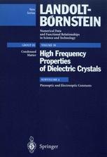 Piezooptic and Electrooptic Constants