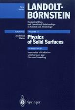 Interaction of Radiation with Surfaces and Electron Tunneling