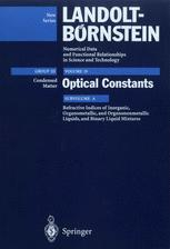 Refractive Indices of Inorganic, Organometallic, and Organononmetallic Liquids, and Binary Liquid Mixtures