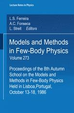 Models and Methods in Few-Body Physics