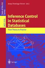 Inference Control in Statistical Databases