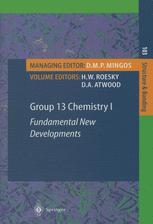 Group 13 Chemistry I
