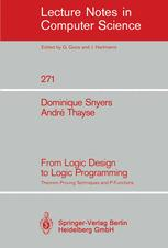 From Logic Design to Logic Programming
