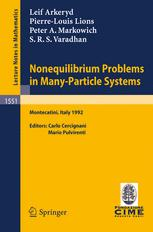 Nonequilibrium Problems in Many-Particle Systems