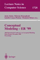 Conceptual Modeling — ER '99