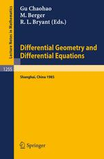 Differential Geometry and Differential Equations