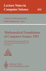 Mathematical Foundations of Computer Science 1993