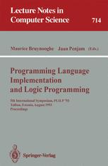 Progamming Language Implementation and Logic Programming