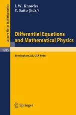 Differential Equations and Mathematical Physics
