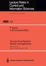Discrete Event Systems: Models and Applications