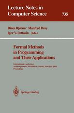 Formal Methods in Programming and Their Applications